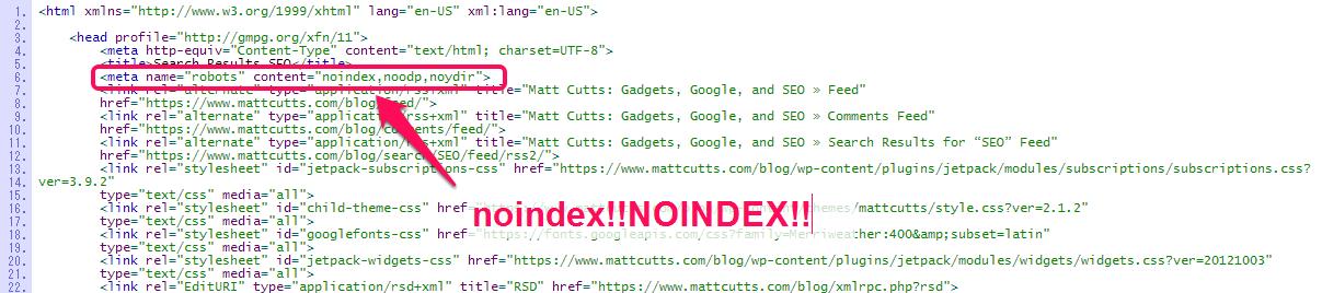 マット・カッツ氏のブログ-noindex